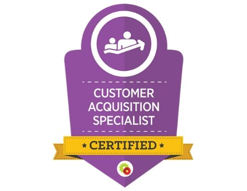 Certified Customer Acquisition Specialist